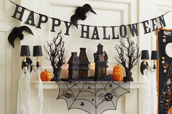 Halloween decoraci n de ltima hora todo lo que necesitas - Decoracion halloween para casa ...