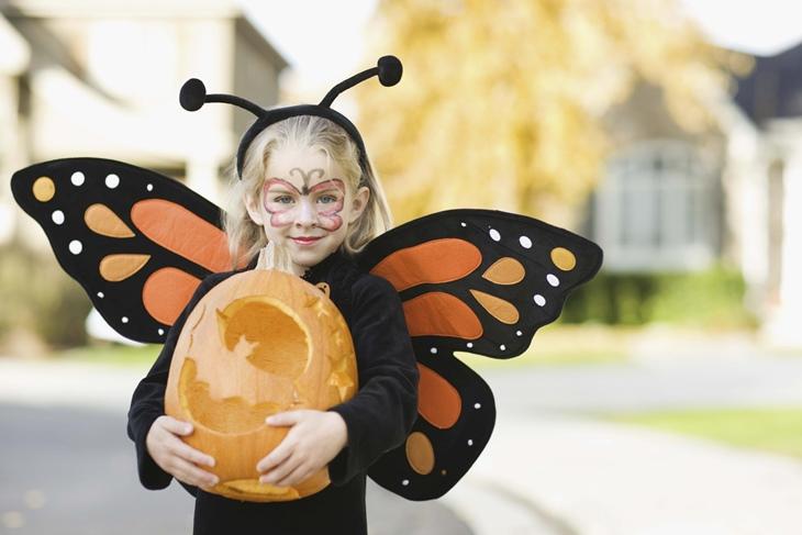 Halloween dibujos para colorear terroríficos para los peques