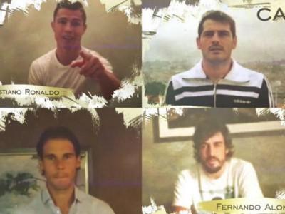 Cristiano, Nadal, Casillas y muchos más cantan por Julio Iglesias