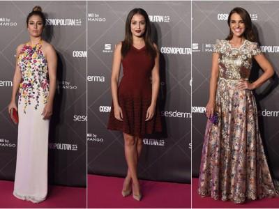 Premios Cosmopolitan 2015: Blanca Suárez, Hiba Abouk y Paula Echevarría