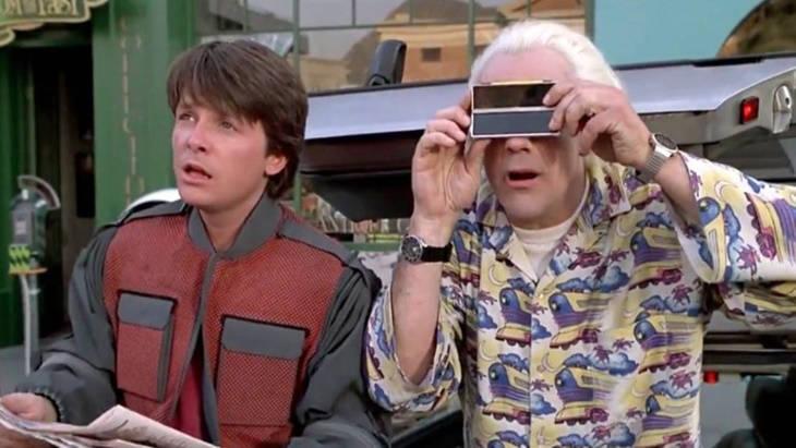 Regreso al Futuro inventos: cámaras digitales