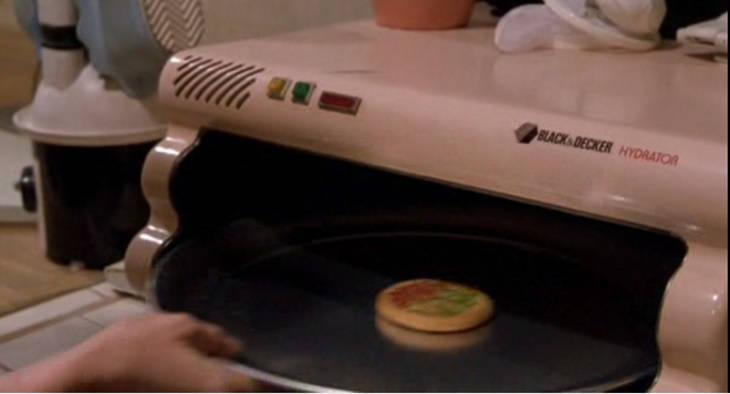 Regreso al Futuro inventos: domótica horno