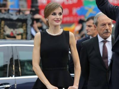 Reina Letizia y su original look en los Princesa de Asturias
