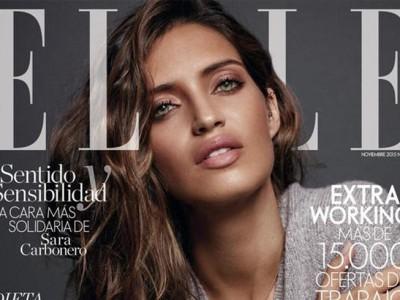 Sara Carbonero: portada solidaria para Elle de la mano de Agatha