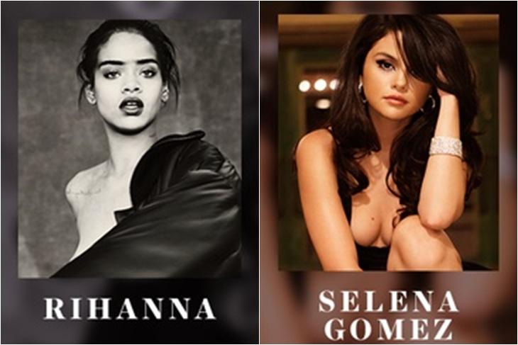 Selena Gomez y Rihanna elegidas para el desfile de Victoria's Secret