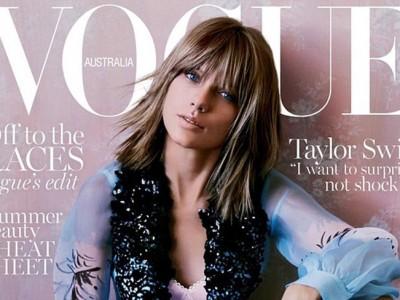 Taylor Swift: ¿demasiado Photoshop en la portada de Vogue Australia?