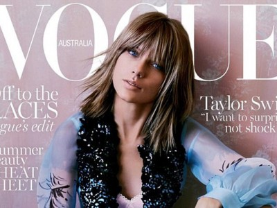 Taylor Swift: ¿demasiado Photoshop en la portada de Vogue Australia?