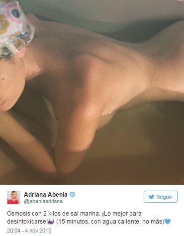 Adriana Abenia Redes Sociales