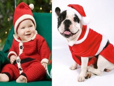 Disfraz de Papa Noel para bebés, adultos y mascotas: Ideas DIY