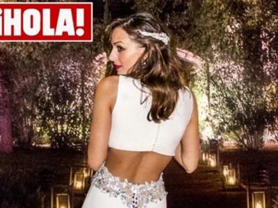 Eva González: su segundo vestido de novia más sensual