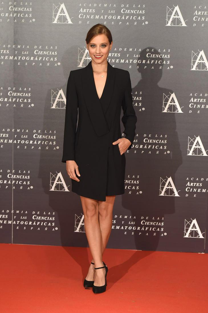 Michelle Jenner look en la entrega de Medallas de la Academia de Cine
