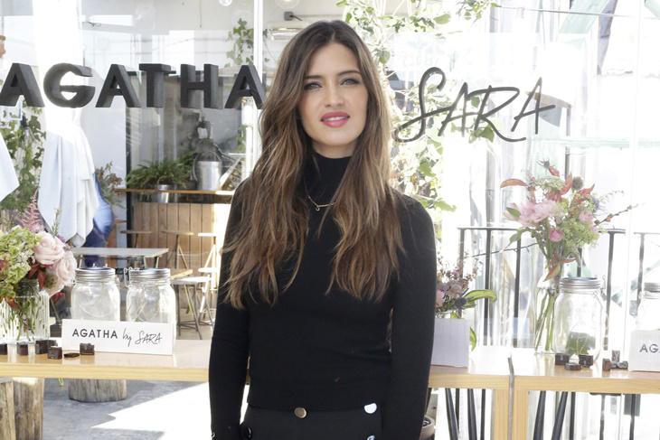 Sara Carbonero presenta su colección de joyas con Agatha