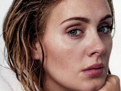 Adele posa al natural en la portada de Rolling Stone