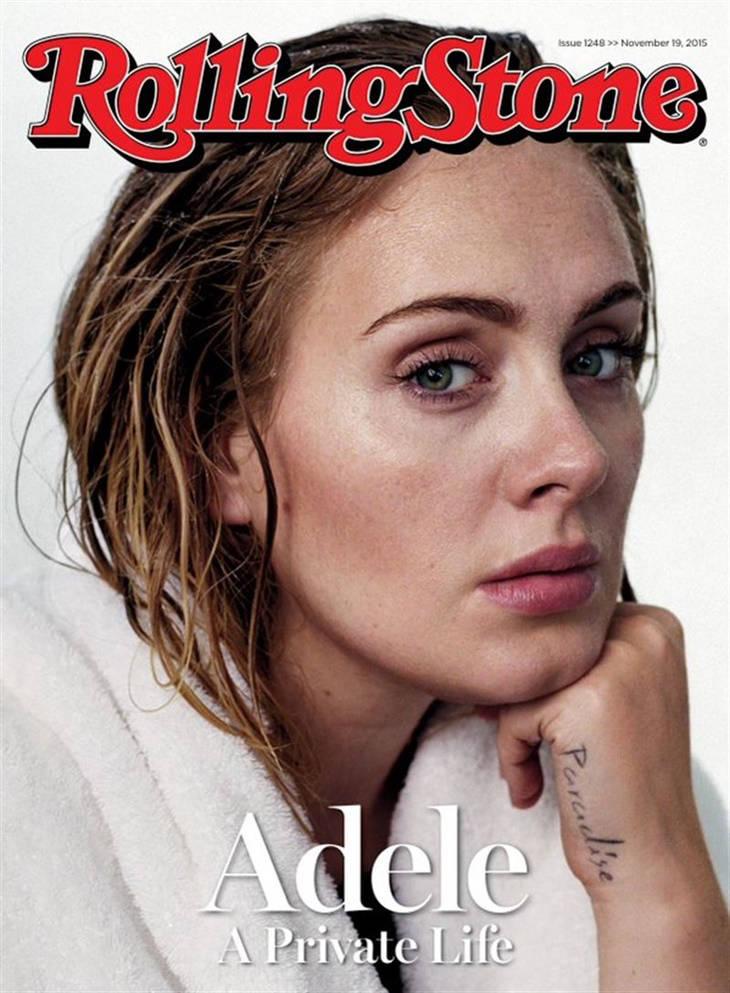 Adele portada de Rolling Stone