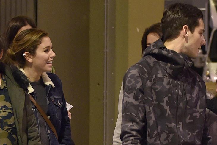 Blanca Suárez y Joel Bosqued juntos en la Madrid Horse Week