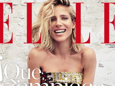 Elsa Pataky celebra la Navidad desde la portada de Elle