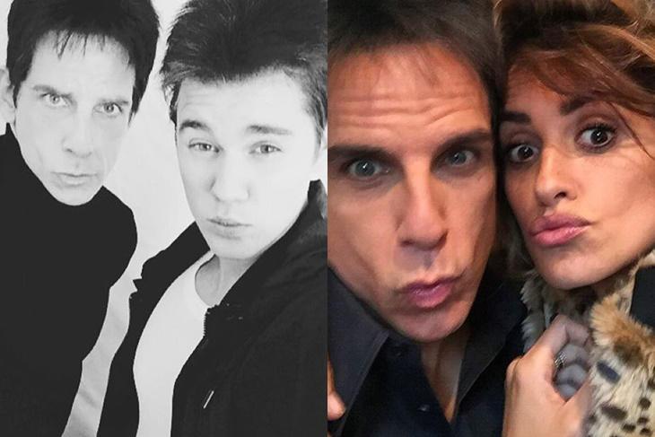 Justin Bieber y Penélope Cruz en el tráiler de 'Zoolander 2'