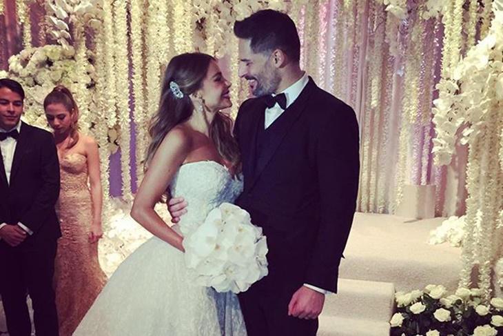 Sofia Vergara y Joe Manganiello: boda en Instagram