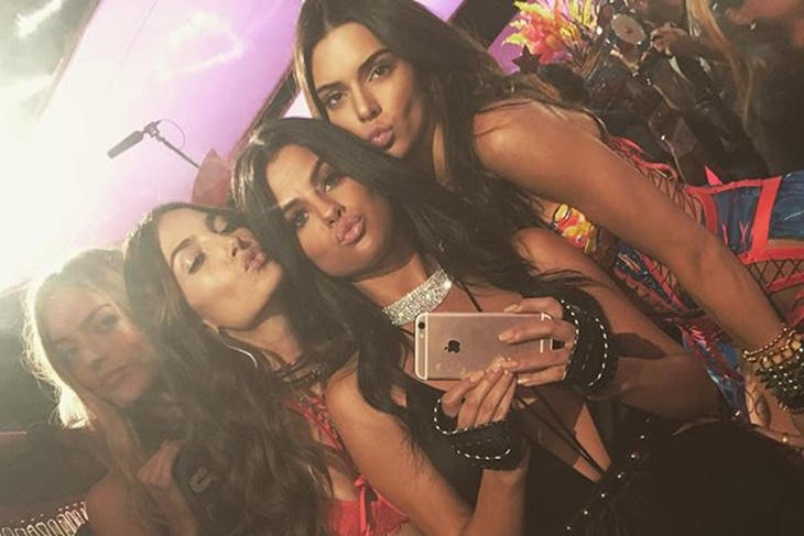 Victoria's Secret Fashion Show 2015: los mejores selfies de los ángeles
