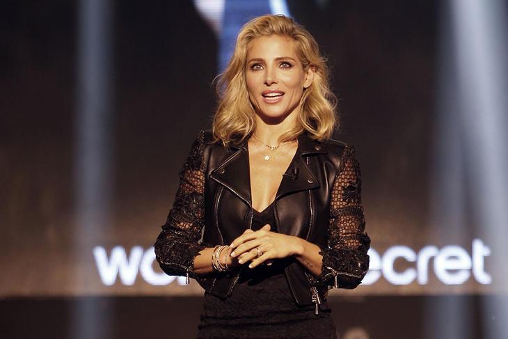 Elsa Pataky sensual presentadora del vídeo y desfile de Women'Secret