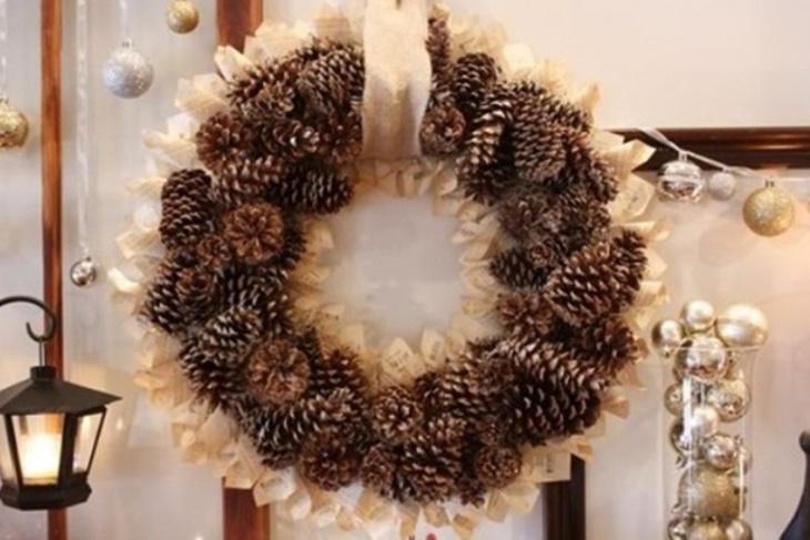 Adornos de navidad con pi as las mejores ideas fotos - Adornos de navidad hechos con pinas ...