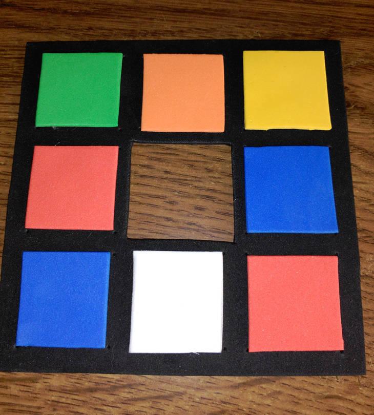 """Cubo de Rubick """"Do It Yourself"""": paso 11"""