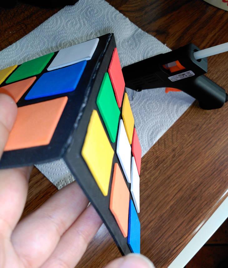 """Cubo de Rubick """"Do It Yourself"""": paso 13"""