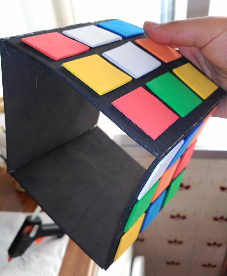 """Cubo de Rubick """"Do It Yourself"""": paso 14"""