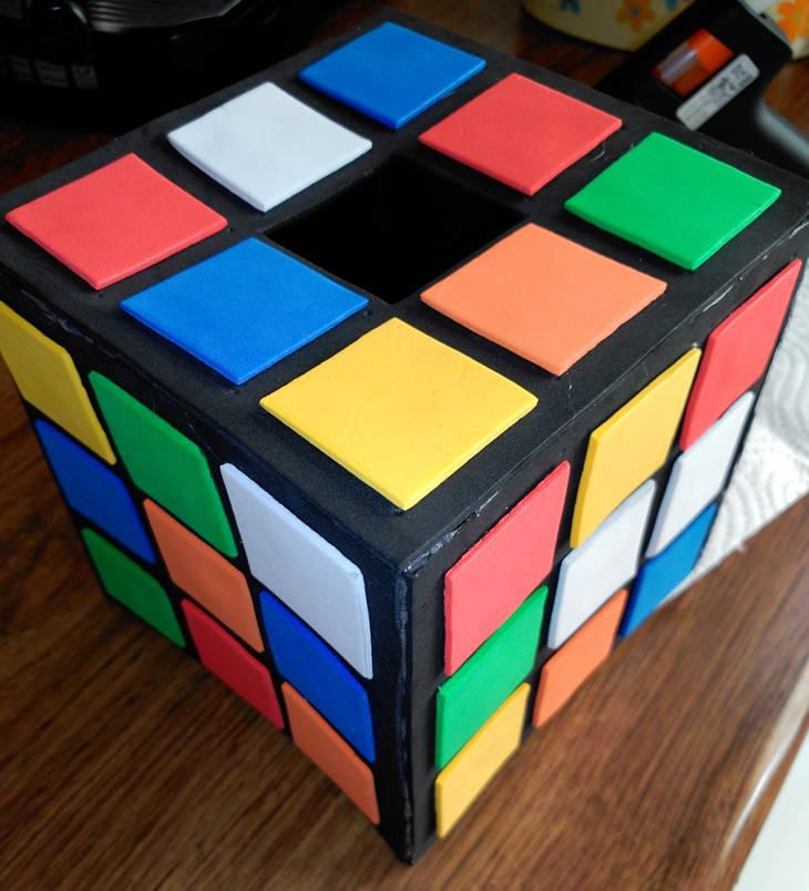 """Cubo de Rubick """"Do It Yourself"""": paso 15"""