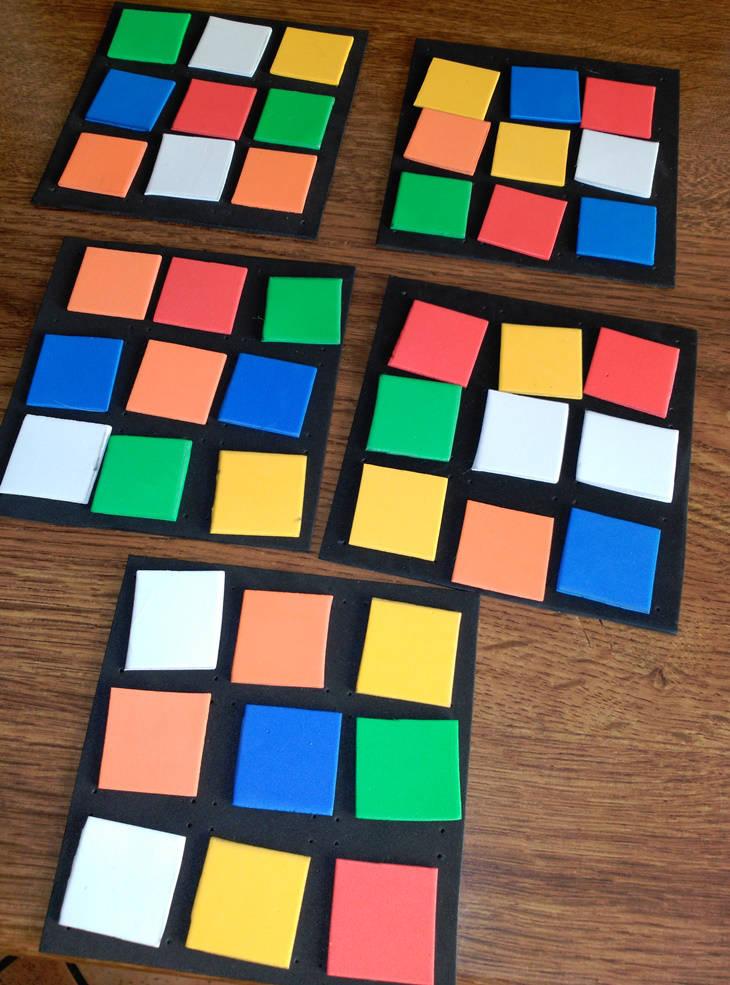 """Cubo de Rubick """"Do It Yourself"""": paso 8"""