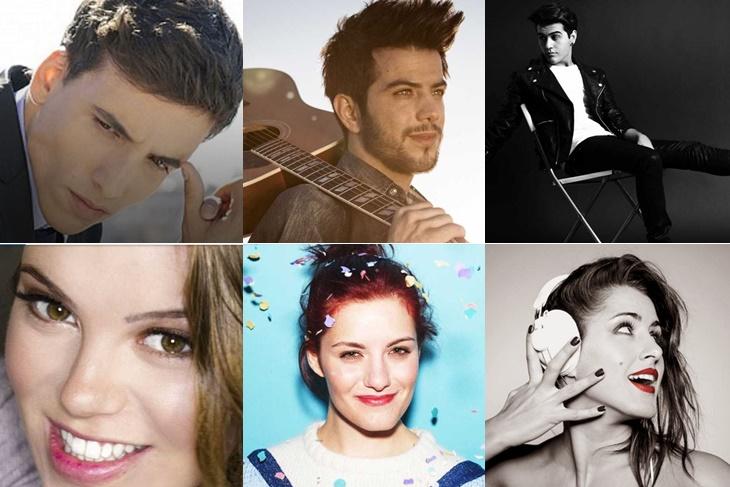 Eurovisión 2016 España: aspirantes al certamen