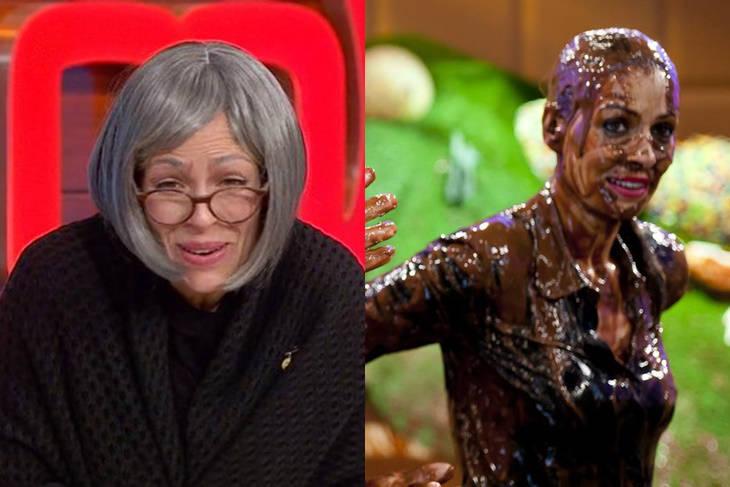 Eva González una anciana con estilo y pasada por chocolate en MasterChef