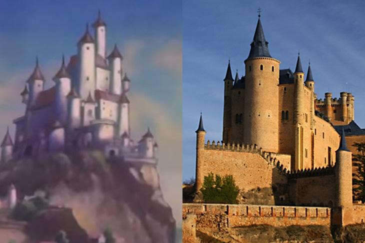Los lugares reales en los que se inspiraron las películas de Disney