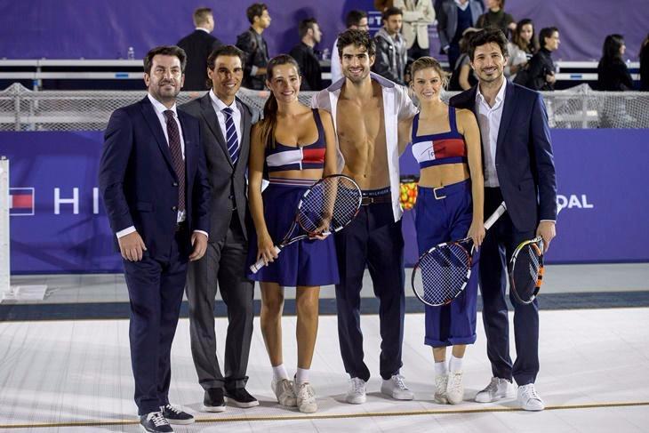 Rafa Nadal y Malena Costa juegan al tenis con Tommy Hilfiger