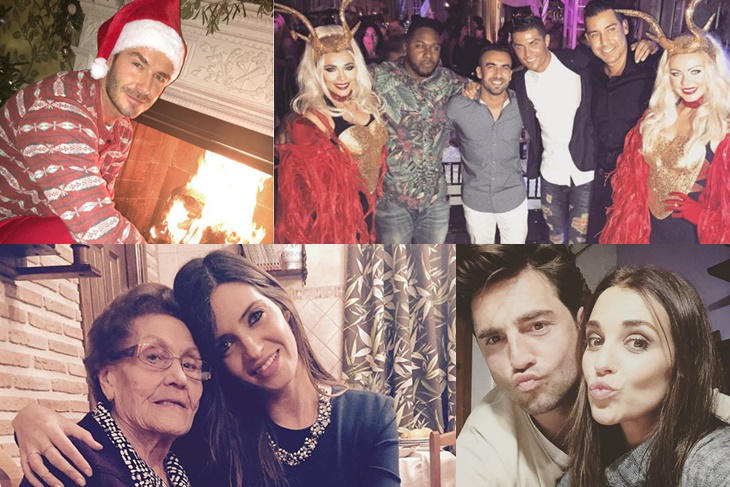 La Navidad de los famosos: ¿cómo lo han celebrado?