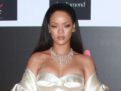 Rihanna una diva de Dior en el Diamond Ball 2015