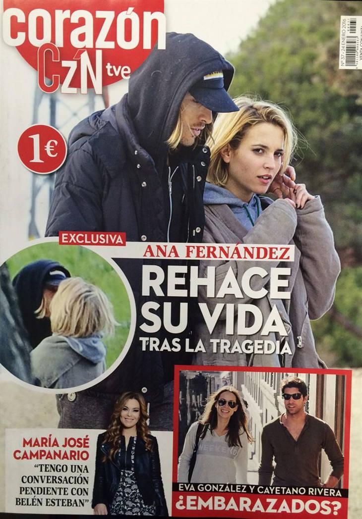 Ana Fernández y Adrián Roma portada