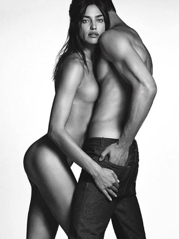 Irina Shayk más sensual que nunca en la campaña de Givenchy con Chris Moore