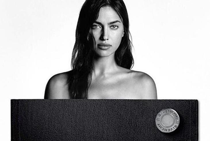 Irina Shayk más sensual que nunca en la campaña de Givenchy