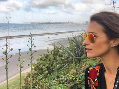 Paula Echevarría y David Bustamante siguen sus vacaciones en Cuba