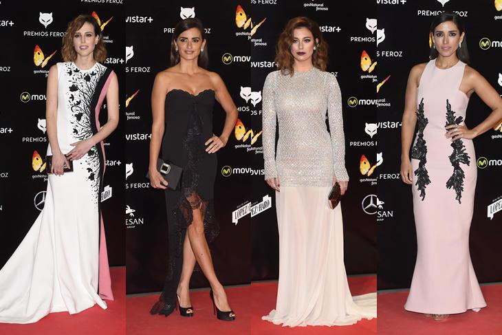 Premio Feroz 2016: alfombra roja de la antesala de los Goya