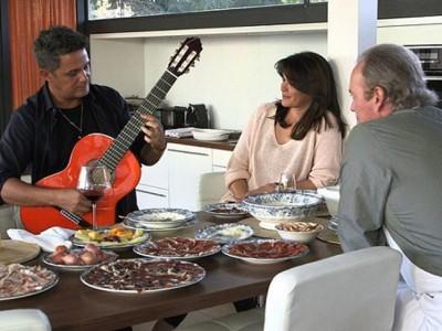 Alejandro Sanz pone celoso a Bertín Osborne en su programa