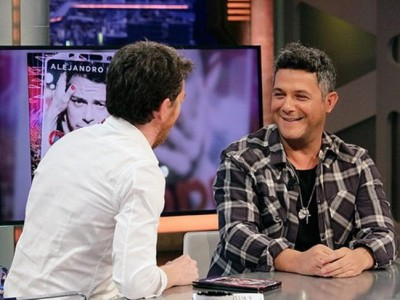 Alejandro Sanz saca su lado más tierno en 'El Hormiguero'