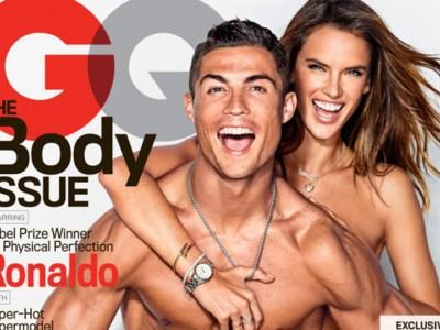 Cristiano Ronaldo y Alessandra Ambrosio: lucen cuerpazo en GQ