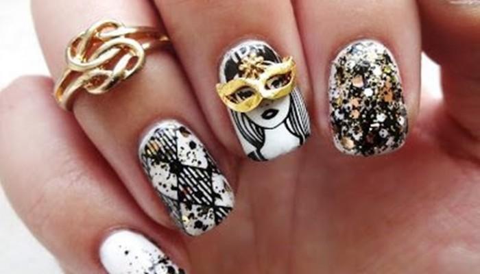 Diseños de uñas de Carnaval: ideas de nail art