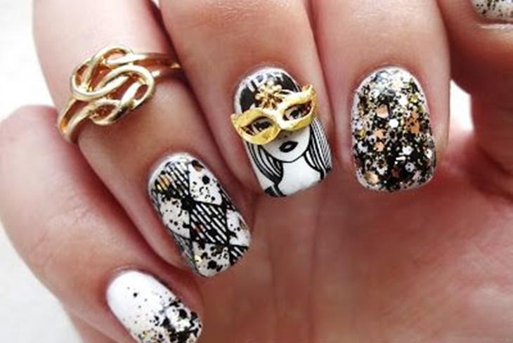 Diseños De Uñas De Carnaval Ideas De Nail Art Fotos Y Vídeo