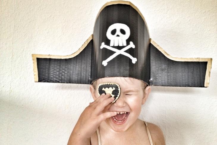 Disfraz de pirata para niño casero: El paso a paso más sencillo