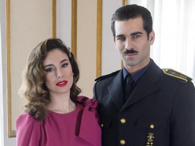 Blanca Suárez y Rubén Cortada elegantes en la presentación de su serie
