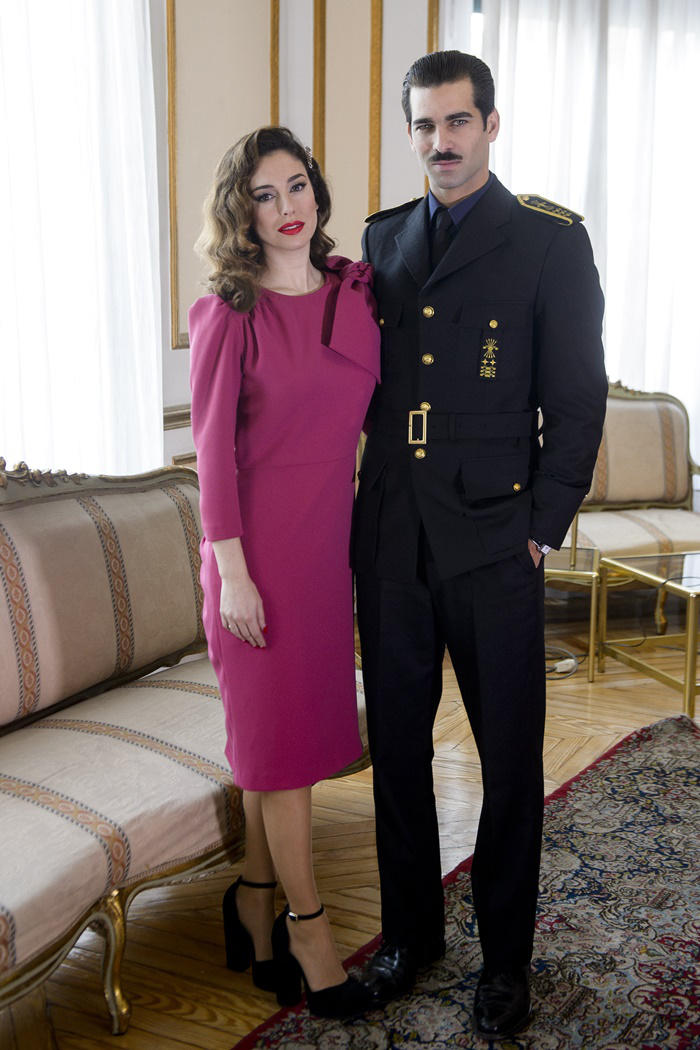 Blanca Suárez y Rubén Cortada posado de 'Lo que escondían sus ojos'