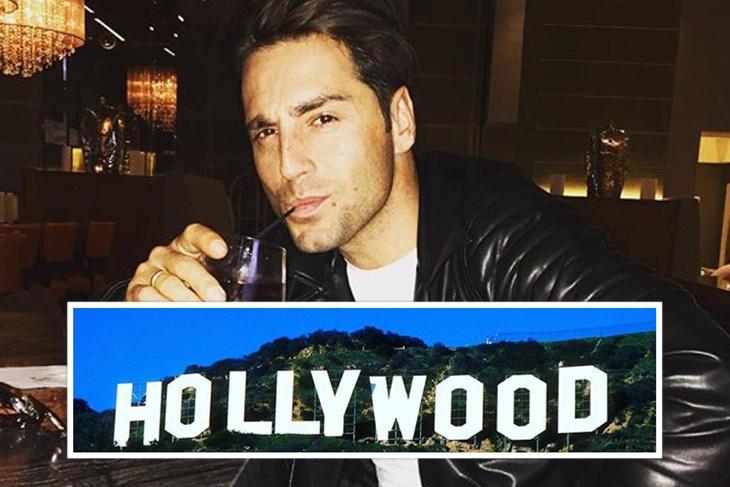 David Bustamante ya está en Los Ángeles para grabar su nuevo disco